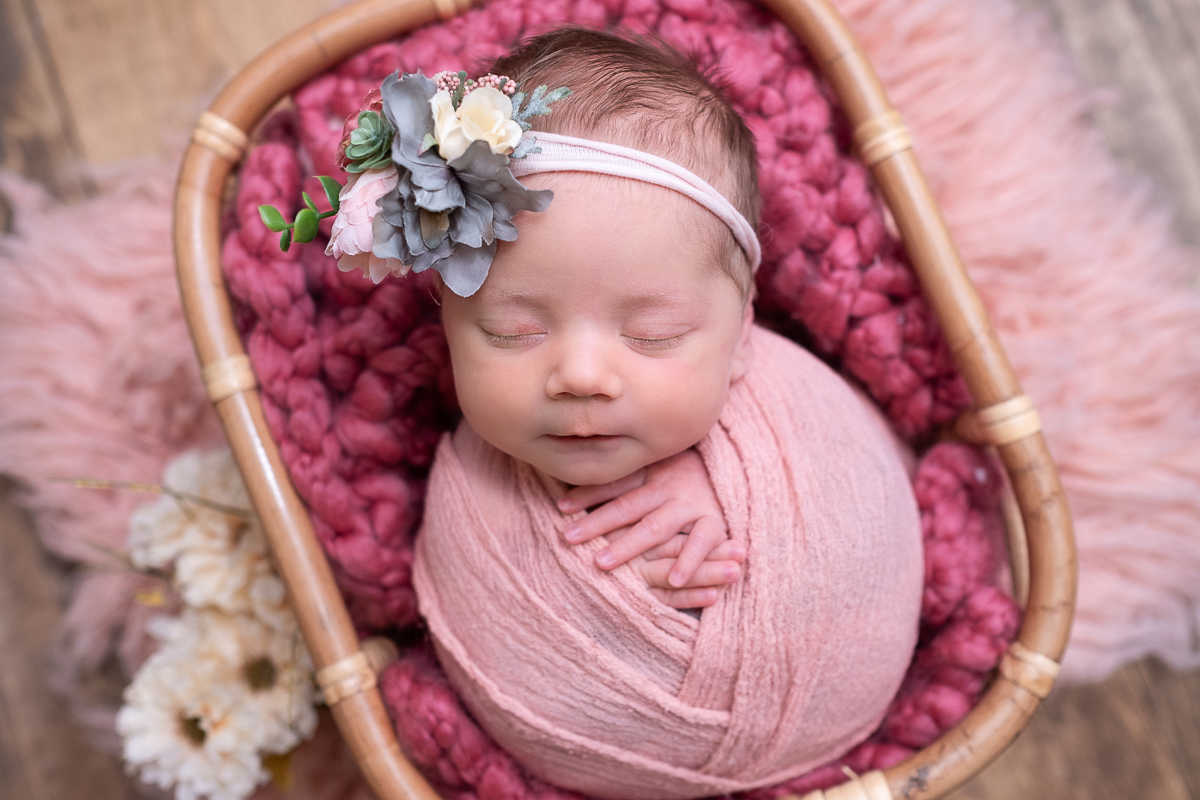 Metro Detroit Newborn Photographer | Eliza