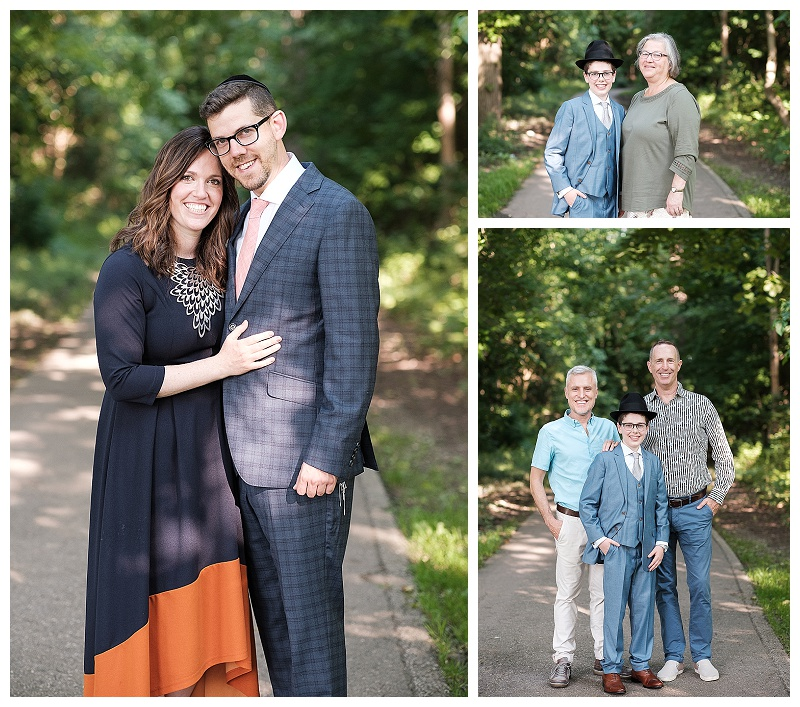 Oakland County Extended Family Photographer