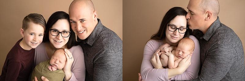 Macomb Newborn Photographer family photos