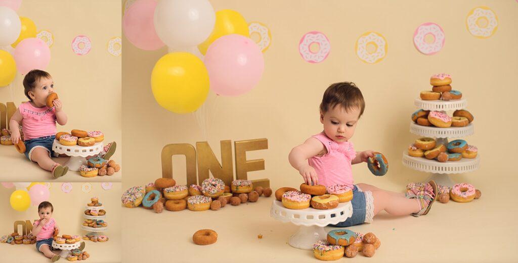 girl donut smash