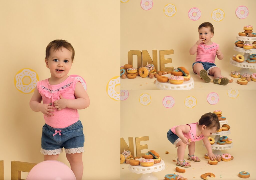donuts for birthday photos
