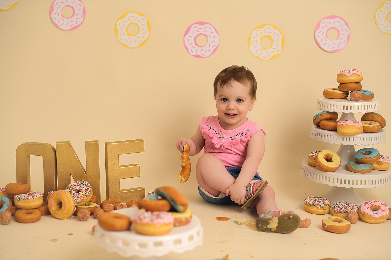 First Birthday Donut Smash | Poppy