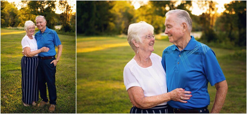 grandma and grandpa being cute together