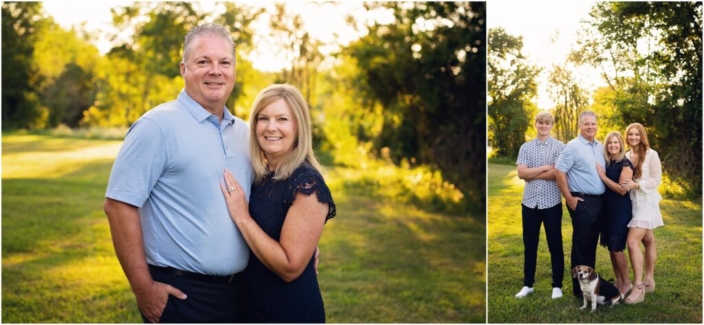 parents, parents with kids chesterfield extended family photographer