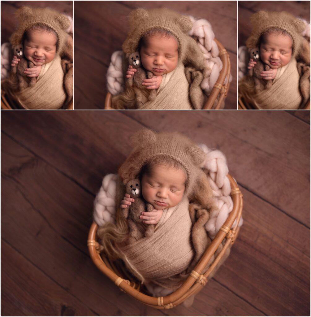 newborn boy heirloom newborn session