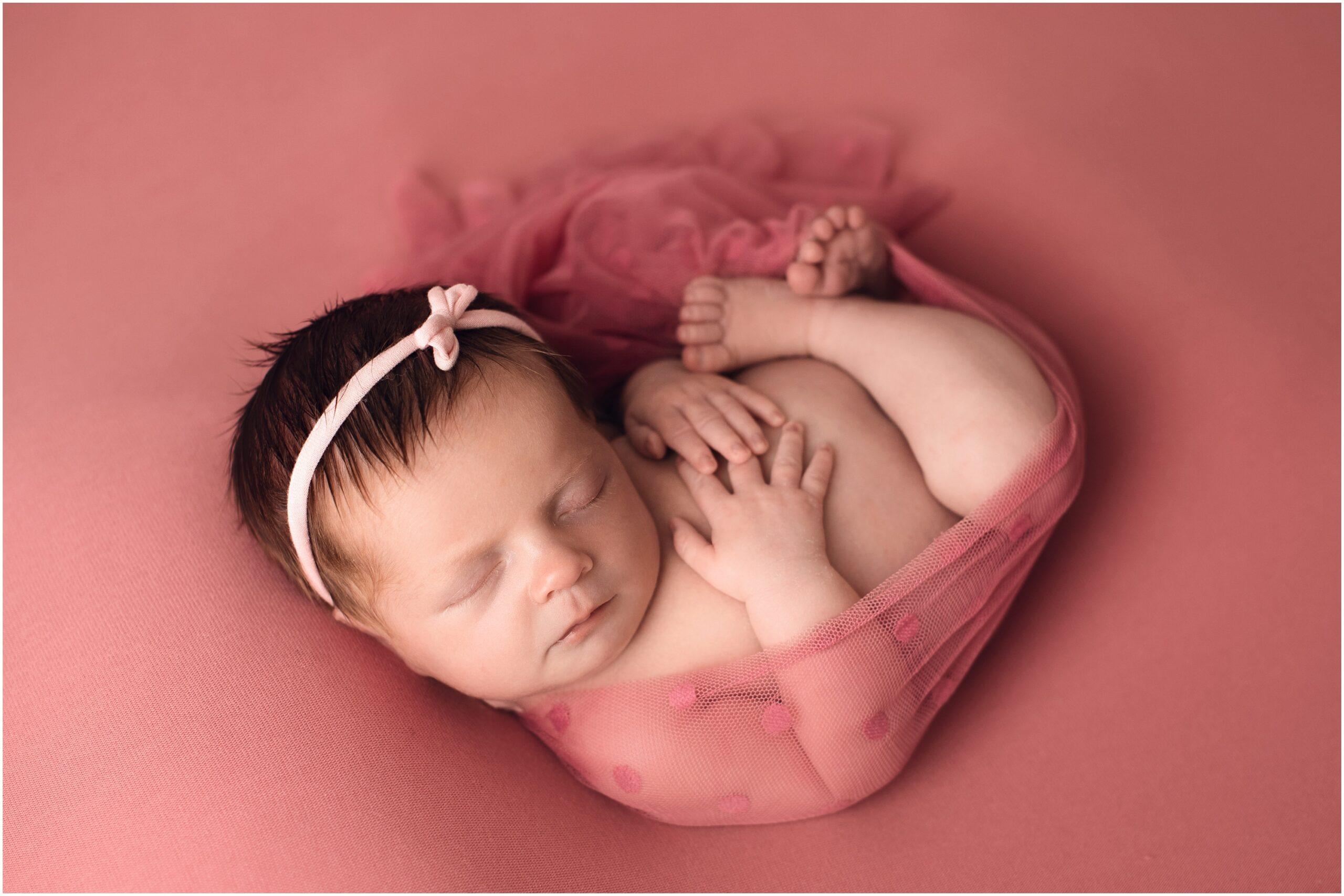 Southeast Michigan Newborn Session – Adelynn