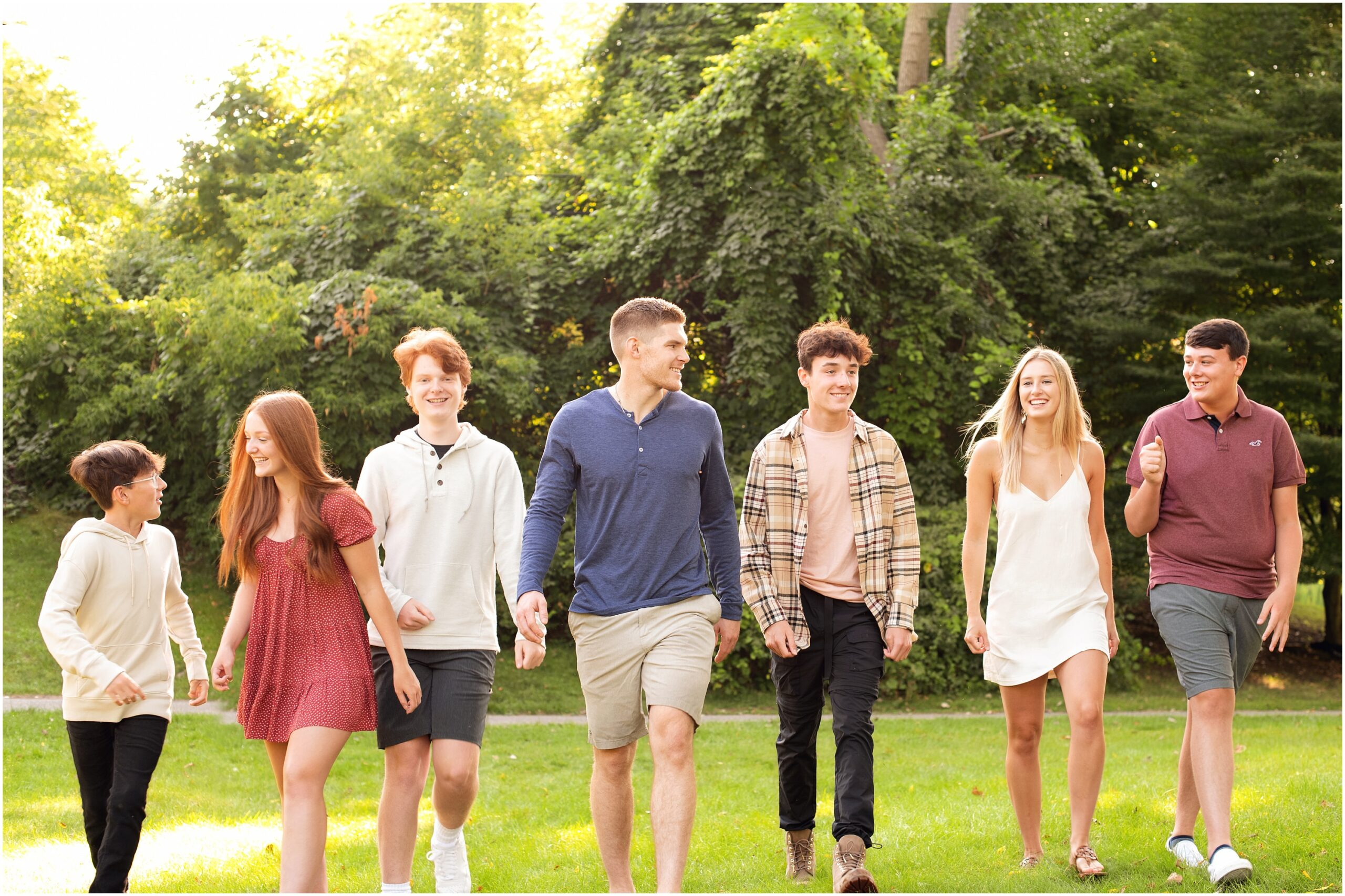 Extended Family Session – Just the Grandkids