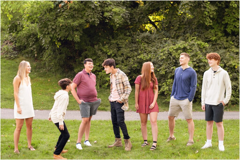 candid cousins photo