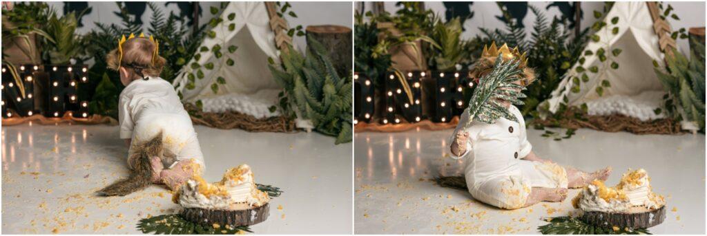 mt clemens cake smash photographer