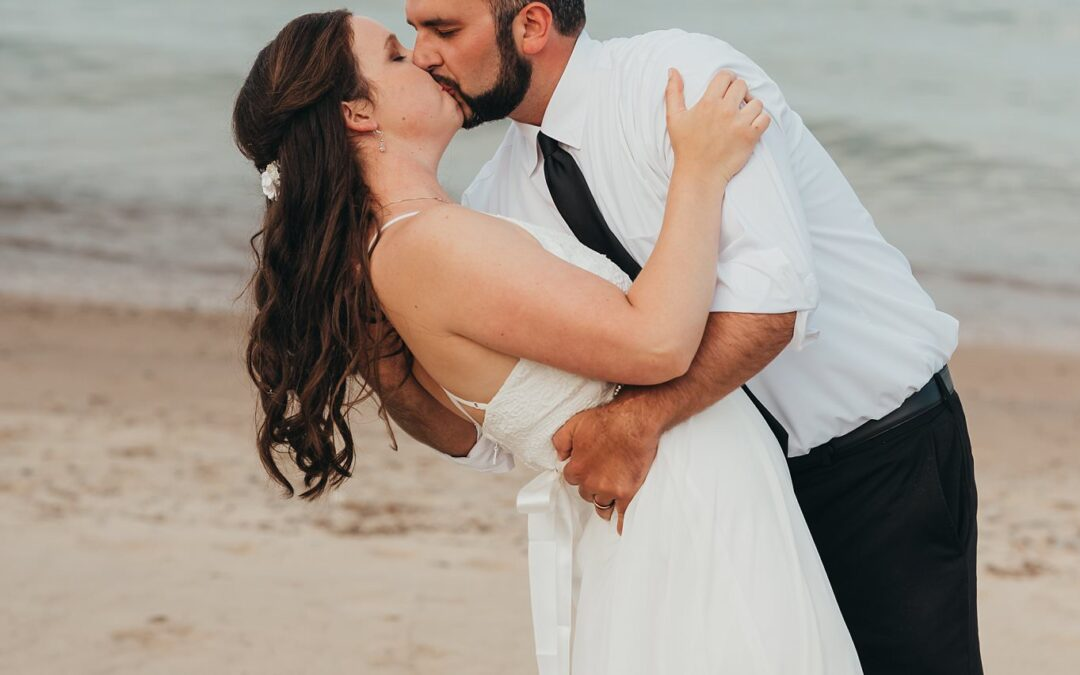 Port Sanilac Wedding   Kaylie and Evan