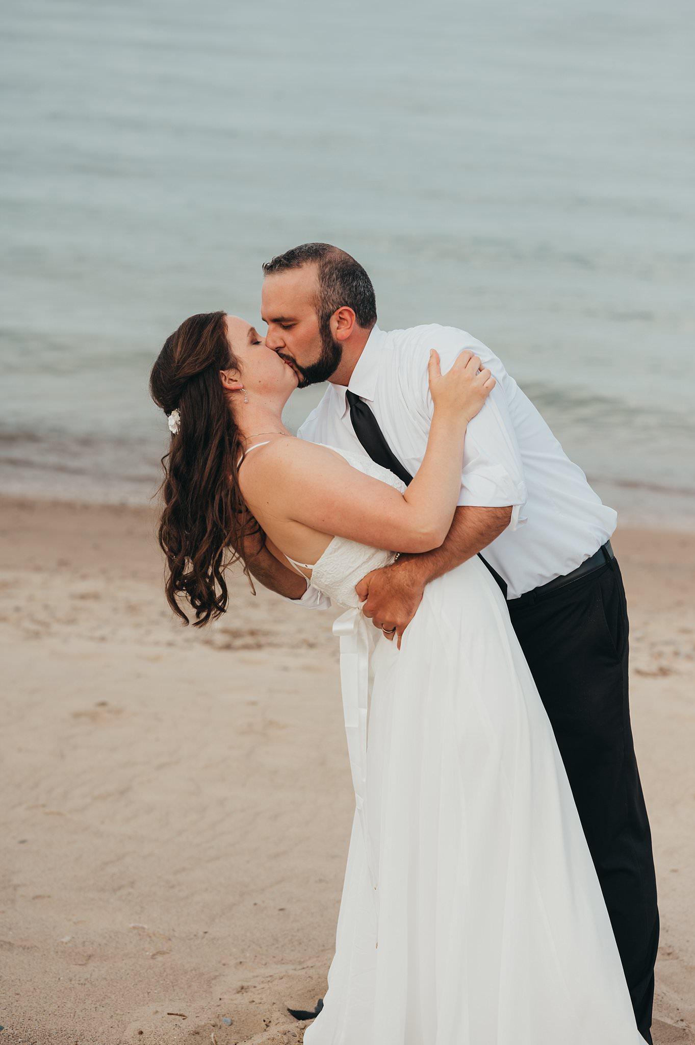 Port Sanilac Wedding | Kaylie and Evan