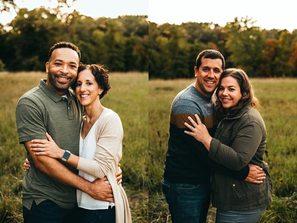 couples during a Shelby Township Family Photo session