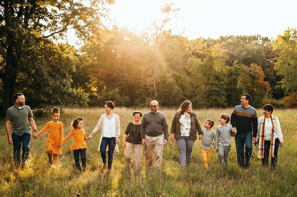 Stoney Creek Metropark Extended Family Photos
