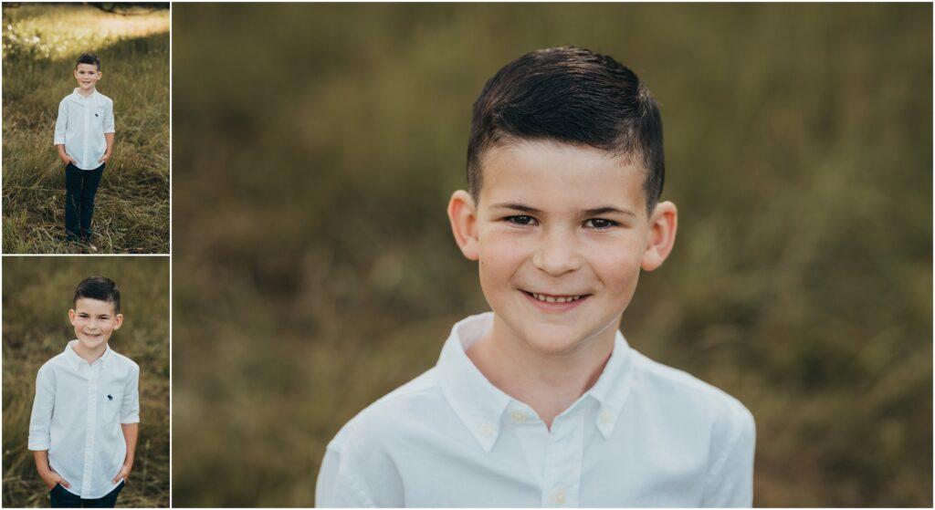 boy in white button up shirt