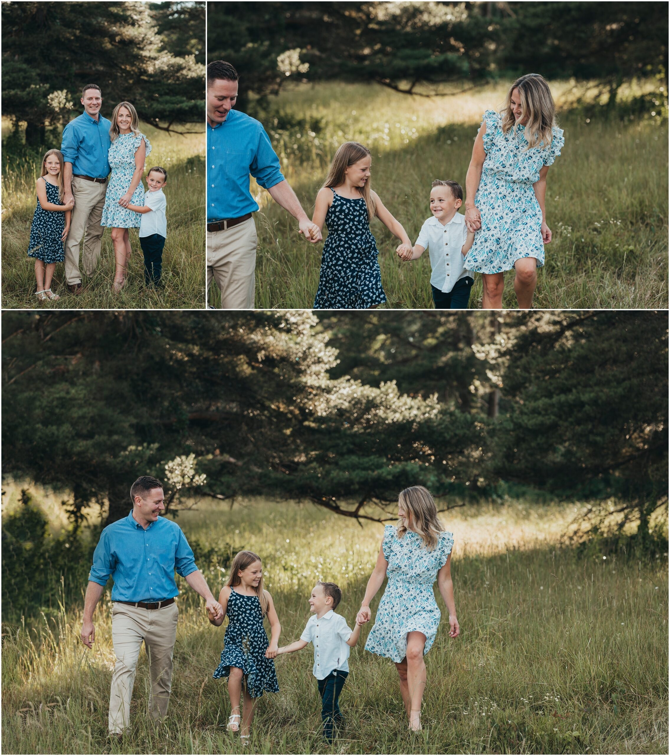 family photos at extended family session
